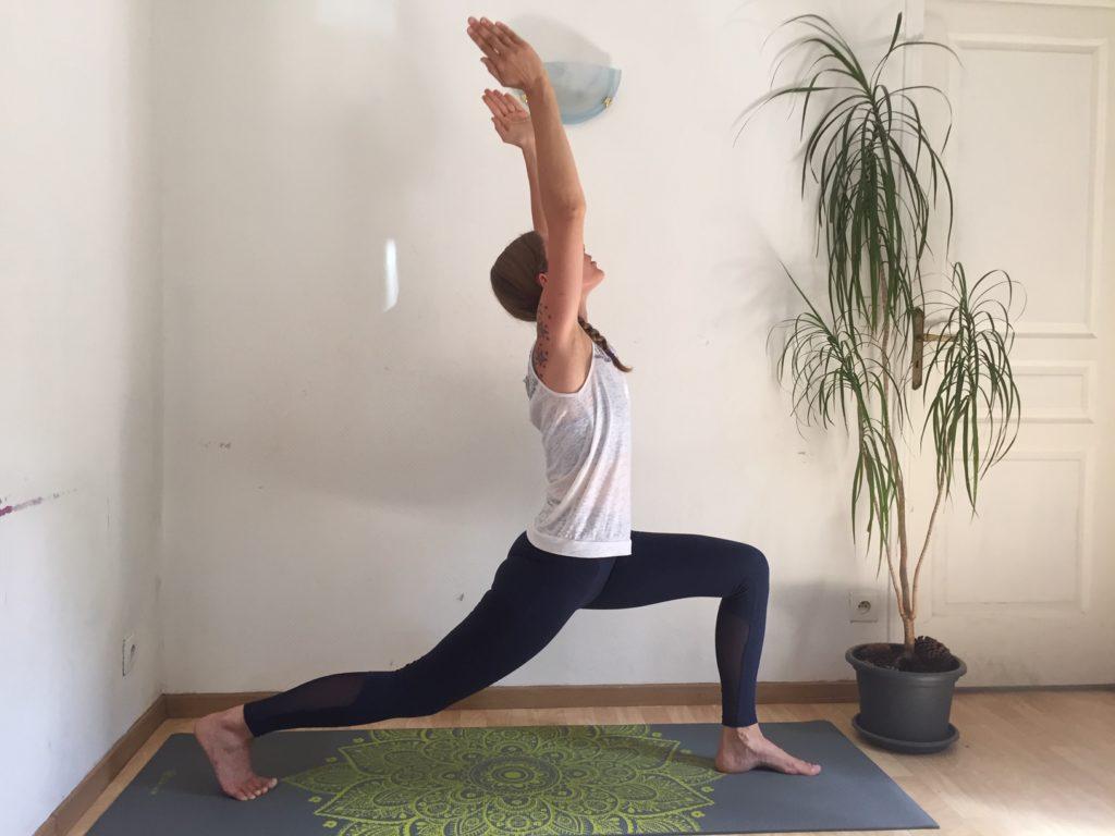 Hatha Yoga la demi lune