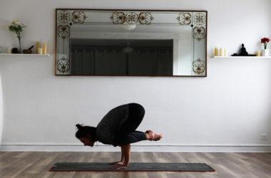 Maeva, professeure de yoga à Lyon