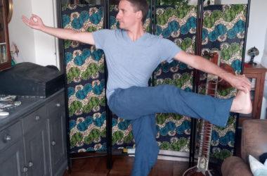 Grégoire, professeur de yoga à Nice