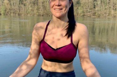 Alizée, professeure de yoga à Fontainebleau