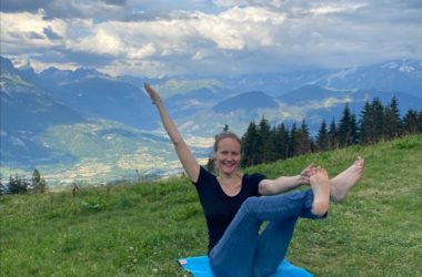 Murielle, professeure de yoga à Strasbourg