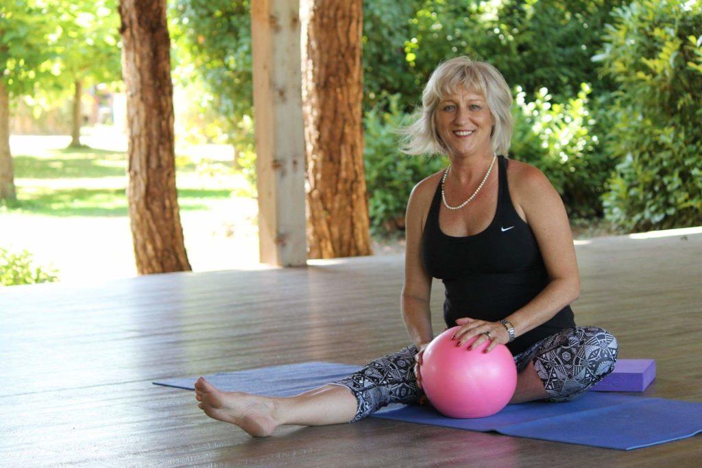 Lisa, professeure de yoga à Toulouse