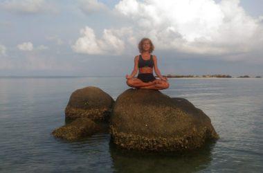 Irene, professeure de yoga à Strasbourg