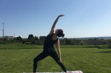 Marine, professeure de yoga à Montpellier