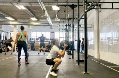 Le wallball en crossfit