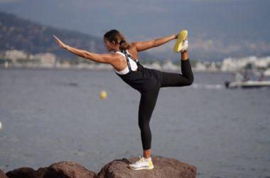 Nathalie, professeure de yoga à Nice