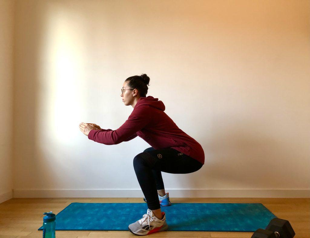 Faire un squat