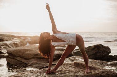 Bianca, professeure de yoga à Paris