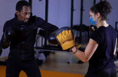 Alpha, coach sportif et professeur de boxe à Paris
