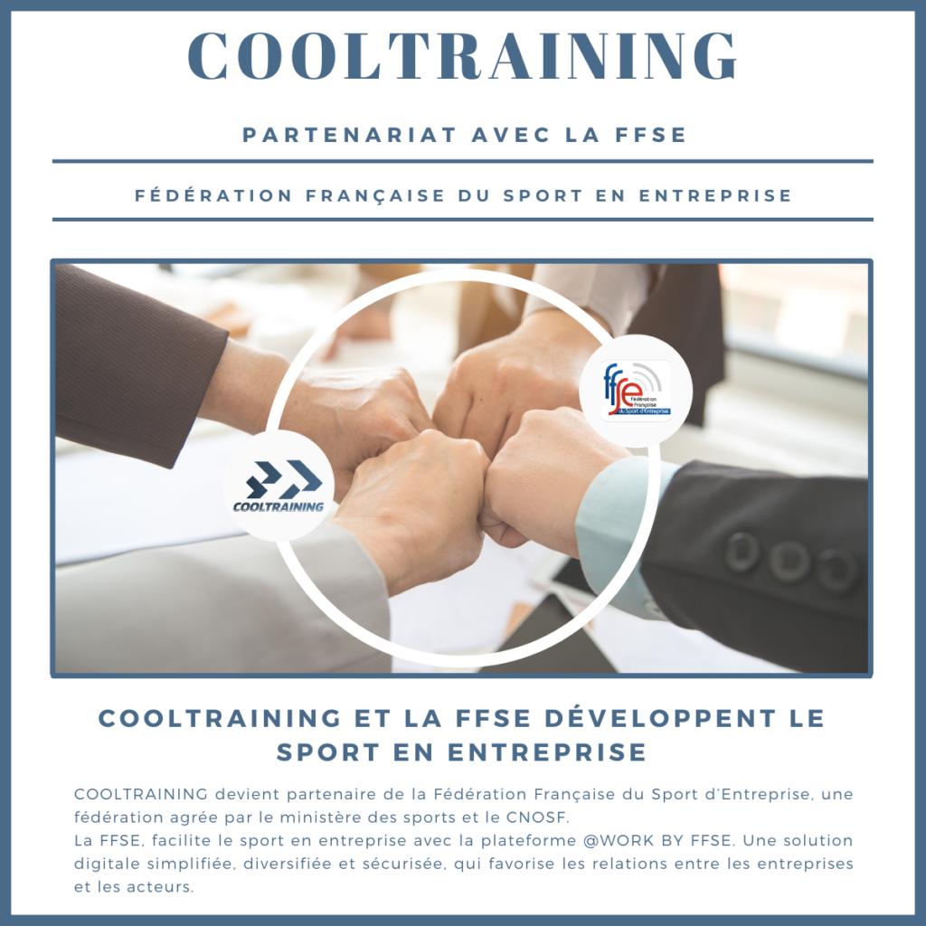 - partenariat CoolTraining et federatino francaise du sport dentreprise