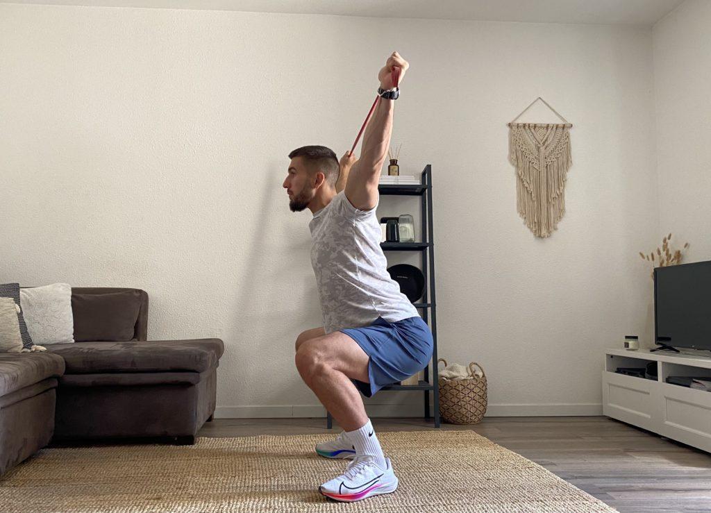 Le travail musculaire avec élastiques