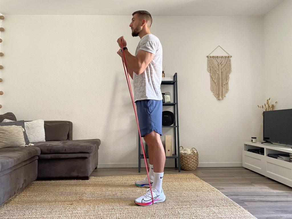 Le travail musculaire avec élastiques ?