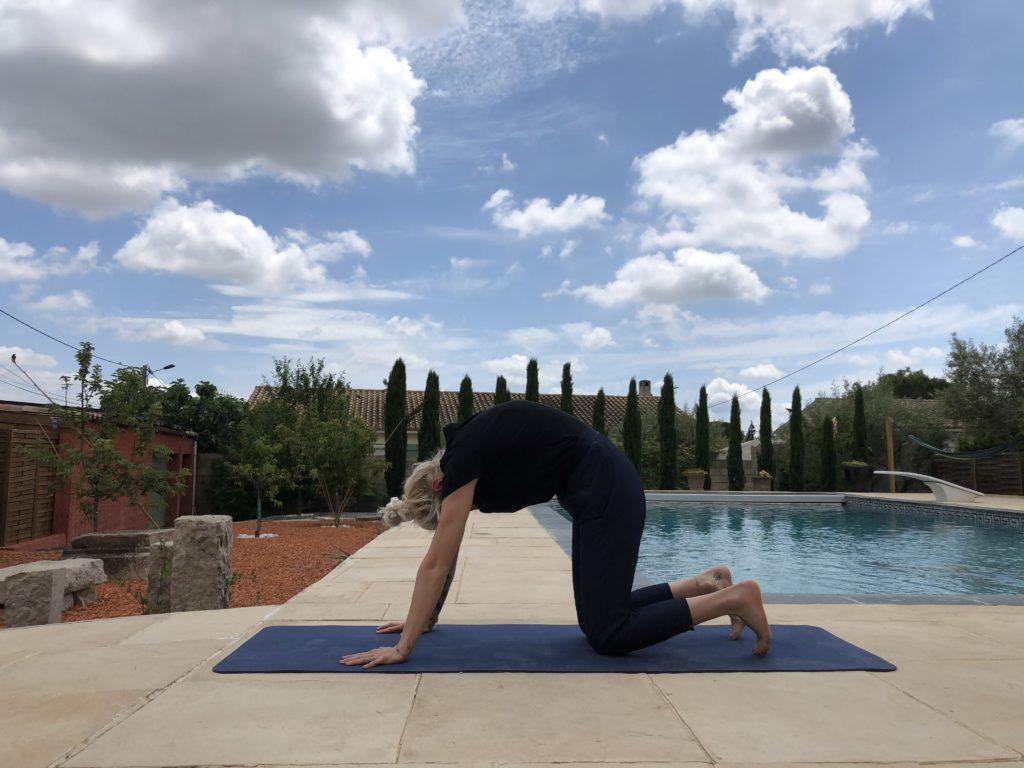 postures de yoga pour soulager son dos